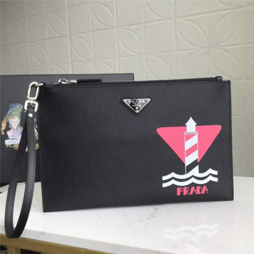 Prada AAA Man Wallets #789467