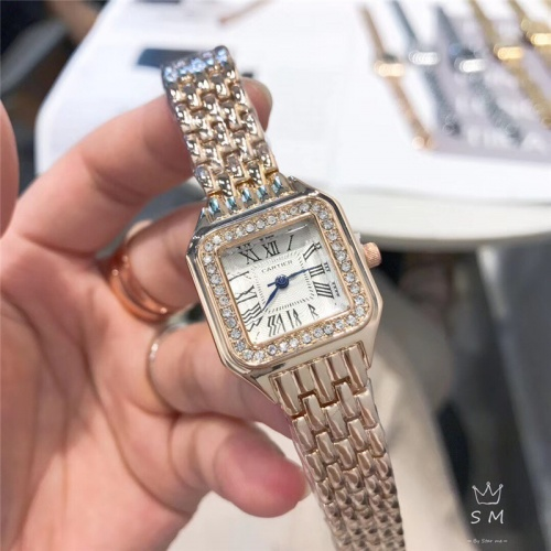Cartier Watches In 28mm For Women #789500 $23.28 USD, Wholesale Replica Cartier Watches