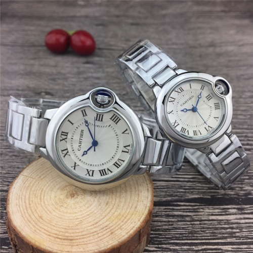 Cartier Couple Watches For Unisex #789524 $24.25, Wholesale Replica Cartier Watches