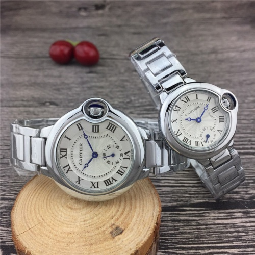 Cartier Couple Watches For Unisex #789525 $24.25, Wholesale Replica Cartier Watches