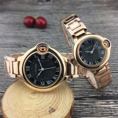 Cartier Couple Watches For Unisex #789527 $24.25 USD, Wholesale Replica Cartier Watches