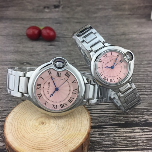 Cartier Couple Watches For Unisex #789528 $24.25, Wholesale Replica Cartier Watches