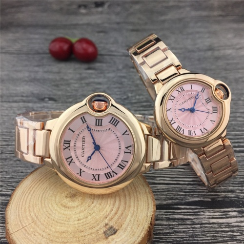 Cartier Couple Watches For Unisex #789529 $24.25, Wholesale Replica Cartier Watches