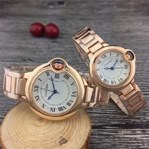 Cartier Couple Watches For Unisex #789530