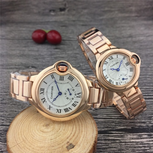 Cartier Couple Watches For Unisex #789531