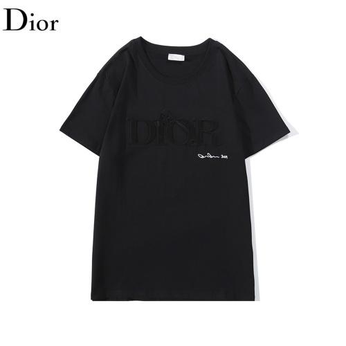 Christian Dior T-Shirts Short Sleeved O-Neck For Men #789556