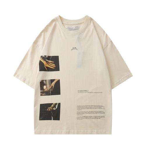 Off-White T-Shirts Short Sleeved O-Neck For Men #789564