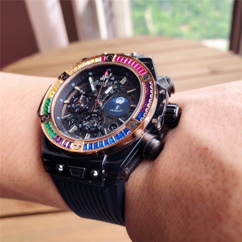 Replica HUBLOT AAA Quality Watches For Men #789566 $176.54 USD for Wholesale