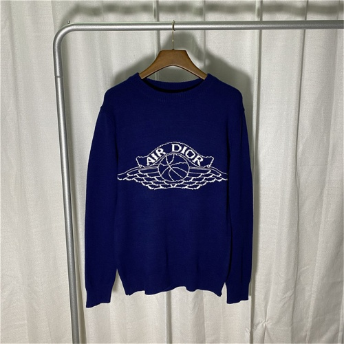 Christian Dior Sweaters Long Sleeved O-Neck For Men #789600