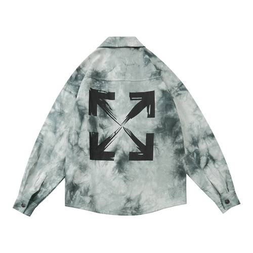 Off-White Jackets Long Sleeved Polo For Men #789617
