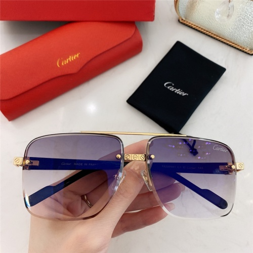 Cartier AAA Quality Sunglasses #789915