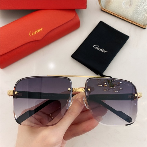 Cartier AAA Quality Sunglasses #789916