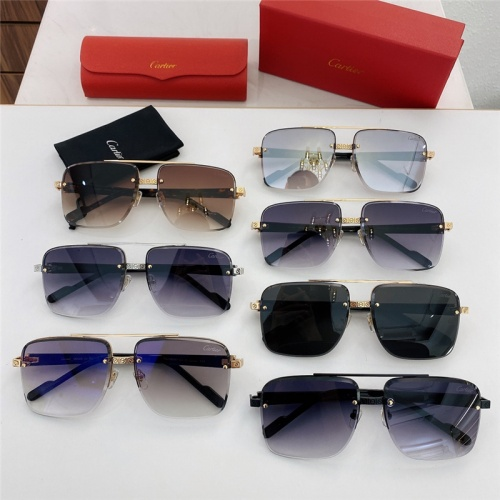 Replica Cartier AAA Quality Sunglasses #789916 $51.41 USD for Wholesale
