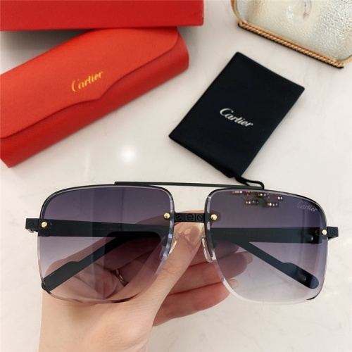 Cartier AAA Quality Sunglasses #789918