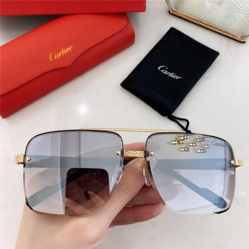 Cartier AAA Quality Sunglasses #789919