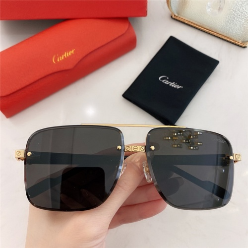 Cartier AAA Quality Sunglasses #789920