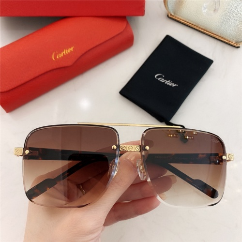 Cartier AAA Quality Sunglasses #789921