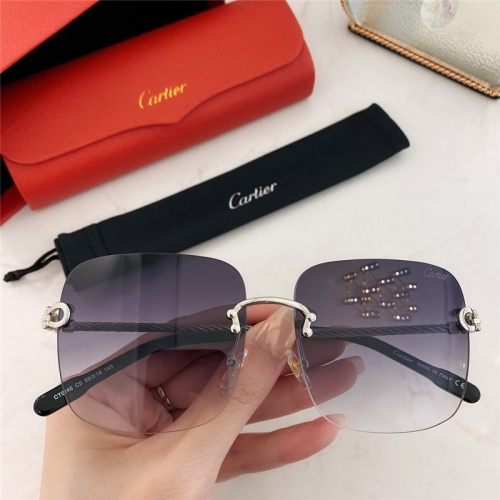 Cartier AAA Quality Sunglasses #789935