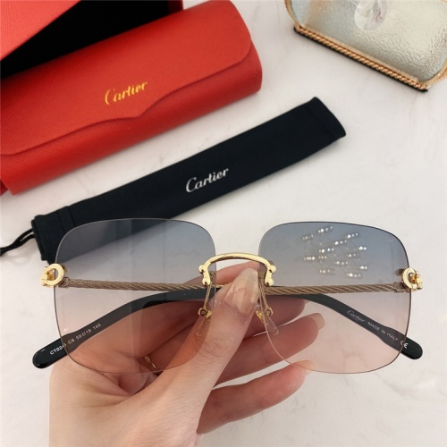 Cartier AAA Quality Sunglasses #789937