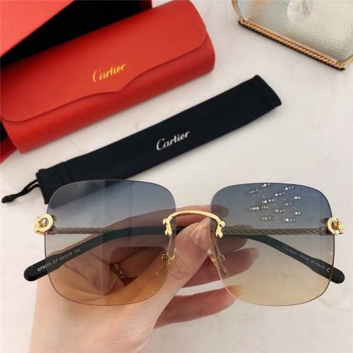 Cartier AAA Quality Sunglasses #789938