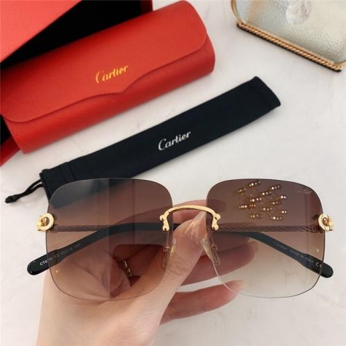 Cartier AAA Quality Sunglasses #789940