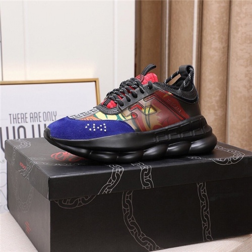 Replica Versace Casual Shoes For Men #790112 $89.24 USD for Wholesale