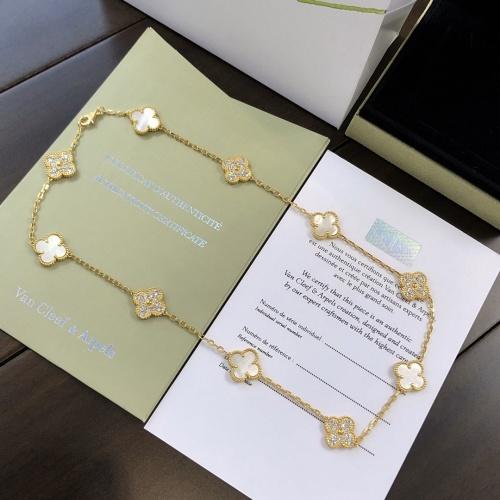 Van Cleef & Arpels Necklaces #790266 $50.44 USD, Wholesale Replica Van Cleef & Arpels Necklaces