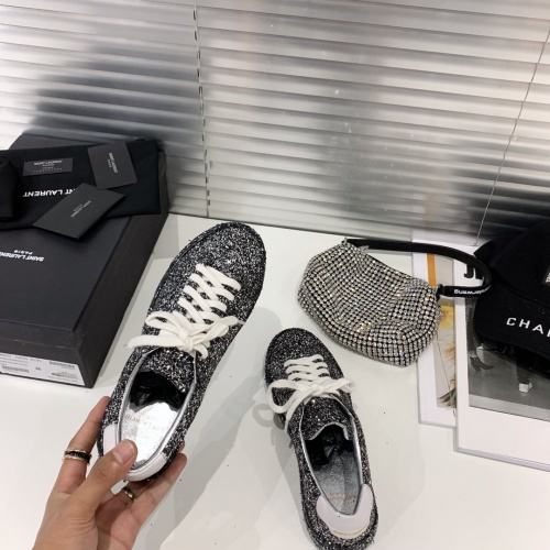 Replica Yves Saint Laurent YSL Casual Shoes For Women #790617 $90.21 USD for Wholesale