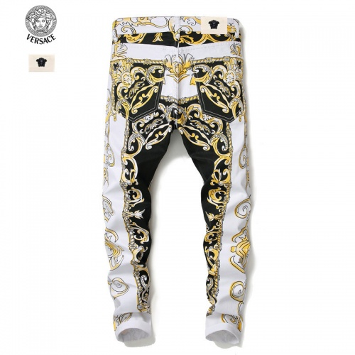 Replica Versace Jeans Trousers For Men #790790 $46.56 USD for Wholesale