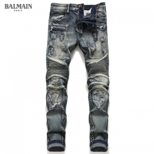Balmain Jeans Trousers For Men #790792