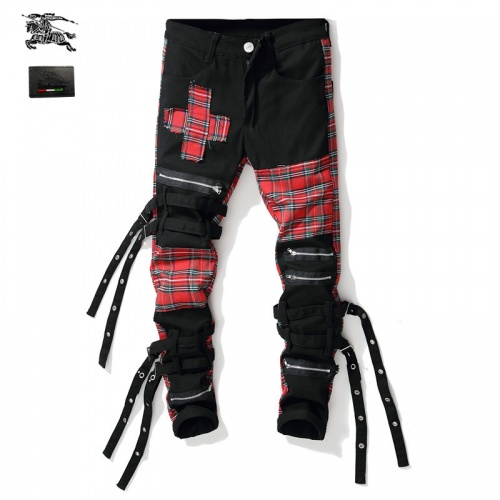 Burberry Jeans Trousers For Men #790793 $46.56 USD, Wholesale Replica Burberry Jeans