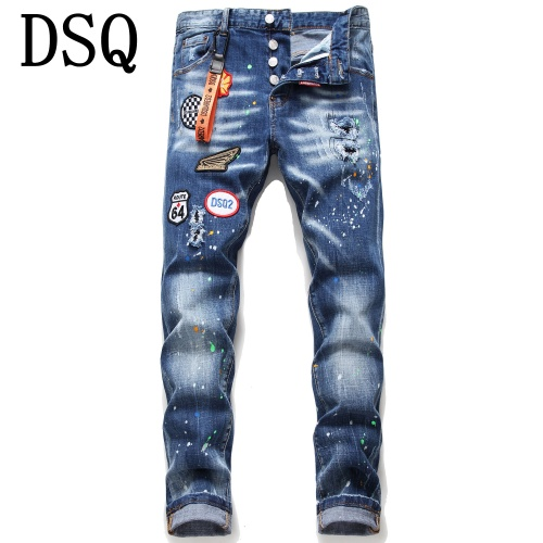 Dsquared Jeans Trousers For Men #790801