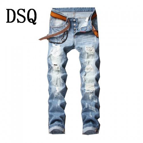 Dsquared Jeans Trousers For Men #790809 $46.56, Wholesale Replica Dsquared Jeans