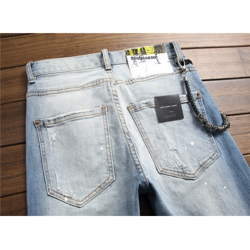 Replica Dsquared Jeans Trousers For Men #790809 $46.56 USD for Wholesale