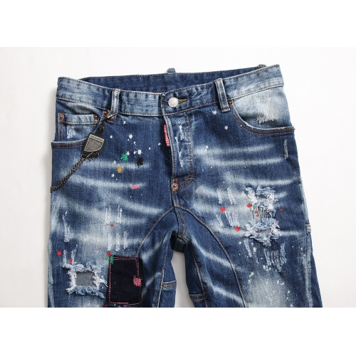 Replica Dsquared Jeans Trousers For Men #790819 $46.56 USD for Wholesale
