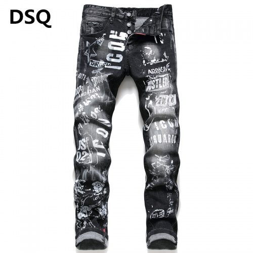 Dsquared Jeans Trousers For Men #790820
