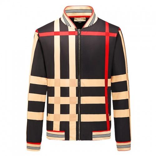 Burberry Jackets Long Sleeved Zipper For Men #790839