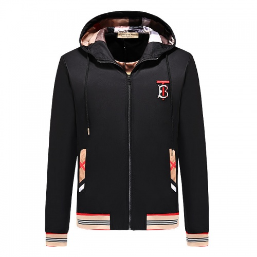 Burberry Jackets Long Sleeved Zipper For Men #790845