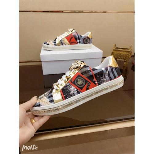 Versace Casual Shoes For Men #790876 $69.84, Wholesale Replica Versace Casual Shoes