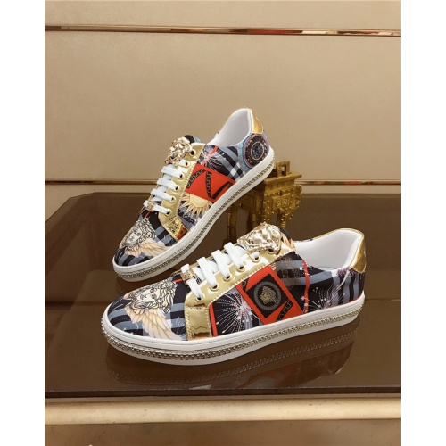 Replica Versace Casual Shoes For Men #790876 $69.84 USD for Wholesale