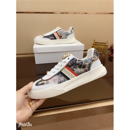 Replica Versace Casual Shoes For Men #790877 $73.72 USD for Wholesale