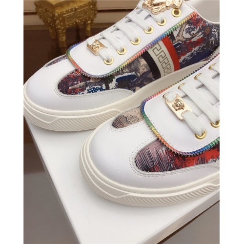 Replica Versace Casual Shoes For Men #790878 $73.72 USD for Wholesale