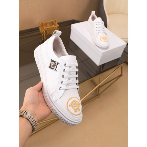 Versace Casual Shoes For Men #790879 $73.72, Wholesale Replica Versace Casual Shoes