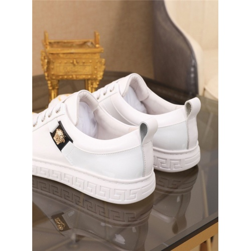 Replica Versace Casual Shoes For Men #790879 $73.72 USD for Wholesale