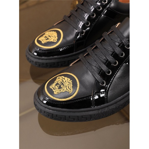 Replica Versace Casual Shoes For Men #790880 $73.72 USD for Wholesale
