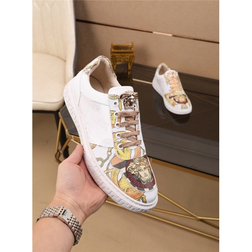 Replica Versace Casual Shoes For Men #790883 $73.72 USD for Wholesale
