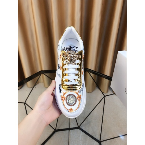 Replica Versace Casual Shoes For Men #790886 $73.72 USD for Wholesale