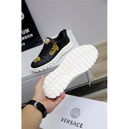 Replica Versace Casual Shoes For Men #790895 $73.72 USD for Wholesale