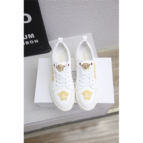 Replica Versace Casual Shoes For Men #790896 $73.72 USD for Wholesale