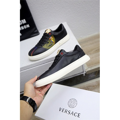 Replica Versace Casual Shoes For Men #790897 $77.60 USD for Wholesale